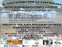 Encuentro Ambiental Organizado por el Grupo Afroumbandismo verde