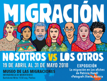 Exposición de afiches sobre Migración